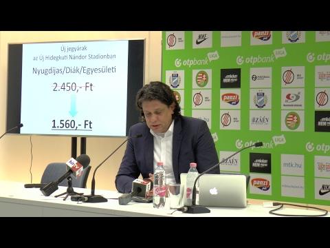 A stadionok nem tudnak focizni – Deutsch a nézőszámokról thumbnail