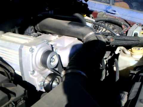 Механический нагнетатель Sprintex на Jeep Wrangler JK 3.8 L