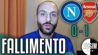 Ancelotti al Napoli non è servito a nulla ||| Napoli-Arsenal 0-1