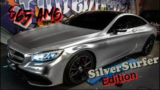 S65 AMG Coupe V12 - Silver Surfer Edition PLATIN !!!