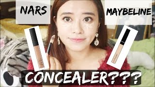 [Review#1] Concealer Nars vs Maybeline + DEMO on Asian skin (che khuyết điểm NARS và Maybeline)