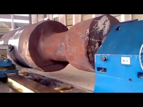 Обработка огромных деталей на токарном станке