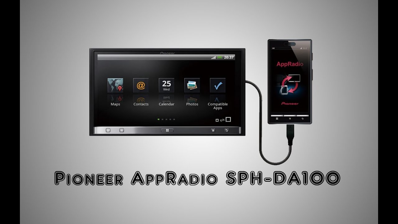 pioneer appradio sph da100 youtube rh youtube com Pioneer Stereo Manuals User Pioneer RDS Car Stereo Manual