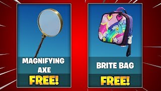 How To UNLOCK FREE Magnifying Axe & Brite Bag Exclusives! (Fortnite China Exclusives)