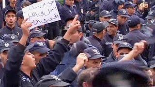 احتجاجات غير مسبوقة لقوات الأمن الجزائرية