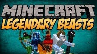 #Minecraft 1.8 Mods   Legendary Beasts Mod   NEW BOSS MOBS!