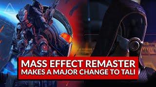 Mass Effect: Legendary Edition Makes a Major Change to Tali (Nerdist News w/ Dan Casey)