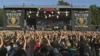Dragonforce - Through The Fire And Flames  Live @ Wacken Open Air Festival 2009