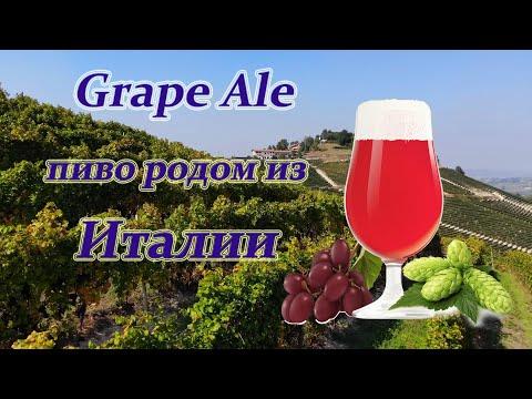 Grape Ale. Пиво родом из Италии
