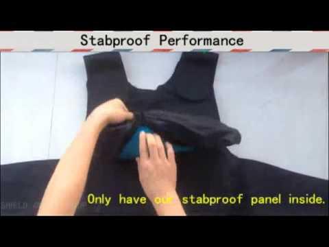 Stab Vest Testing--Shield Online Shop