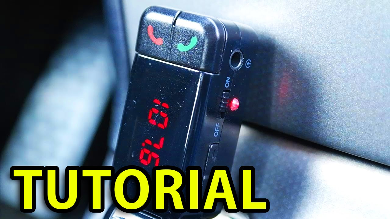Bluetooth Car transmitter Tutorial 2016