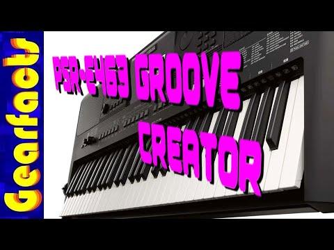 yamaha psr e463 groove creator demo youtube. Black Bedroom Furniture Sets. Home Design Ideas