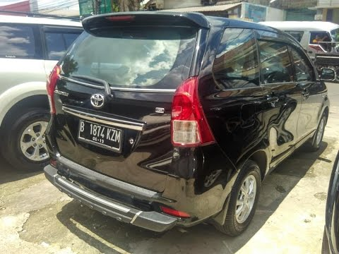 2014 Toyota All New Avanza 13 G Mesin Interior Exterior