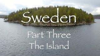 Bushcraft Canoe Trip in Sweden. Part Three - The Island