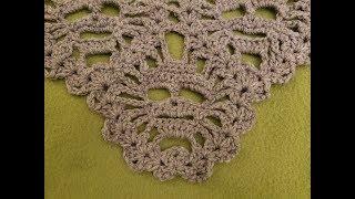 """The """"Lost Souls Skull Shawl"""" Pt. 1 Crochet Tutorial!"""