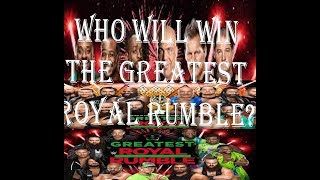 royalrumble entry and winner prediction 100% result