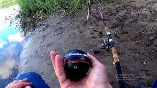 Вечер проведенный на рыбалке.Рыбалка с эхолотом DEEPER.