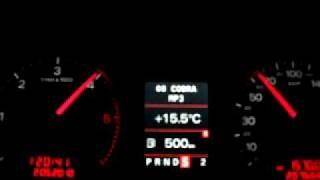 Audi A4 BLB Multitronic (S) Acceleration 0-100km/h