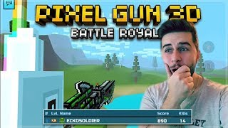 HOW DID WE WIN THIS! 14 KILL VICTORY! UN-NAMED LOCATIONS BATTLE ROYALE | Pixel Gun 3D