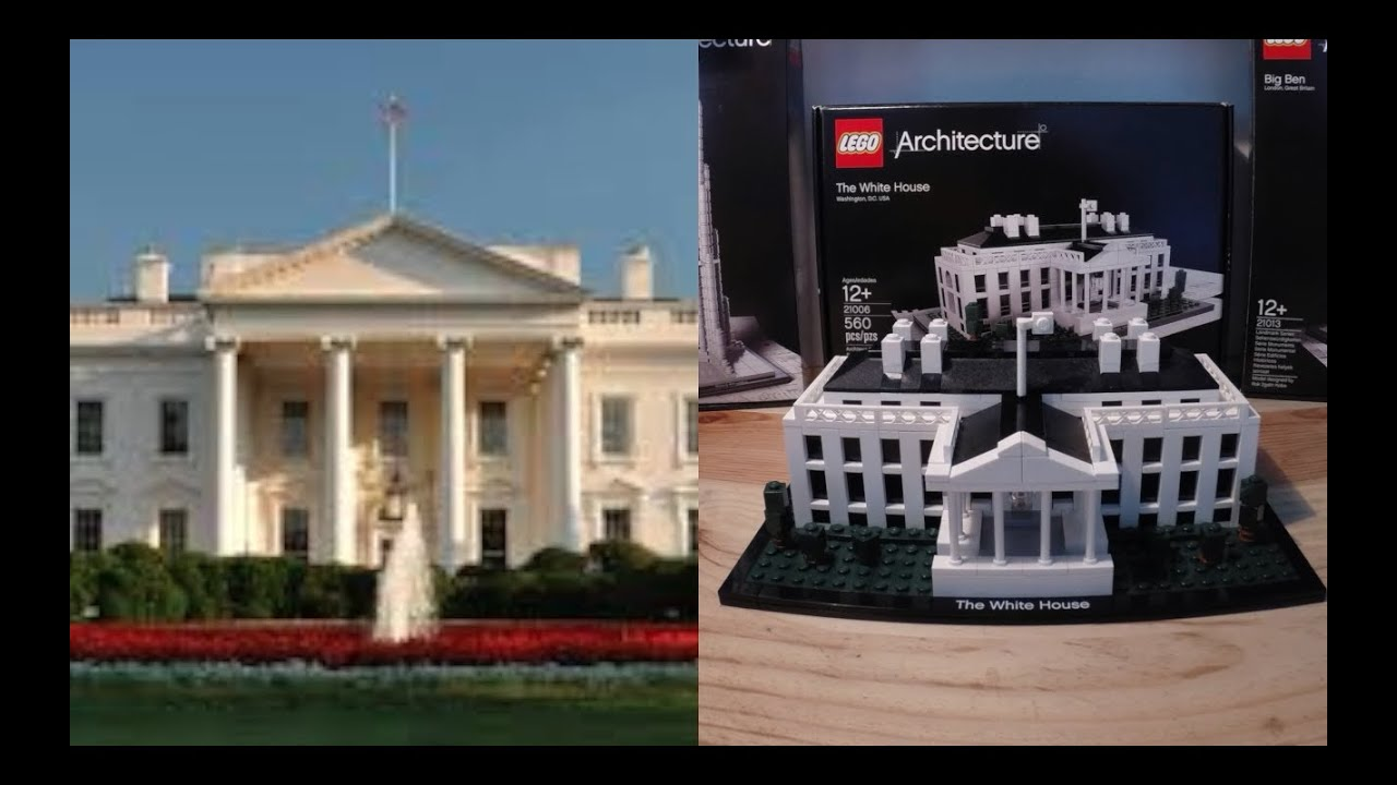 white house lego architecture hd: review of the building of the