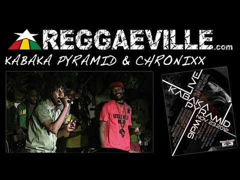 Kabaka Pyramid & Chronixx in Kingston, Jamaica 11/23/2012