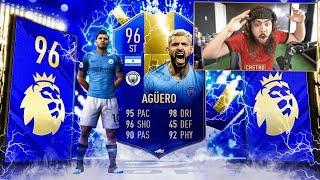 OMG I PACKED 96 TOTS AGUERO!!! MY TOTS REWARDS!! FIFA 19