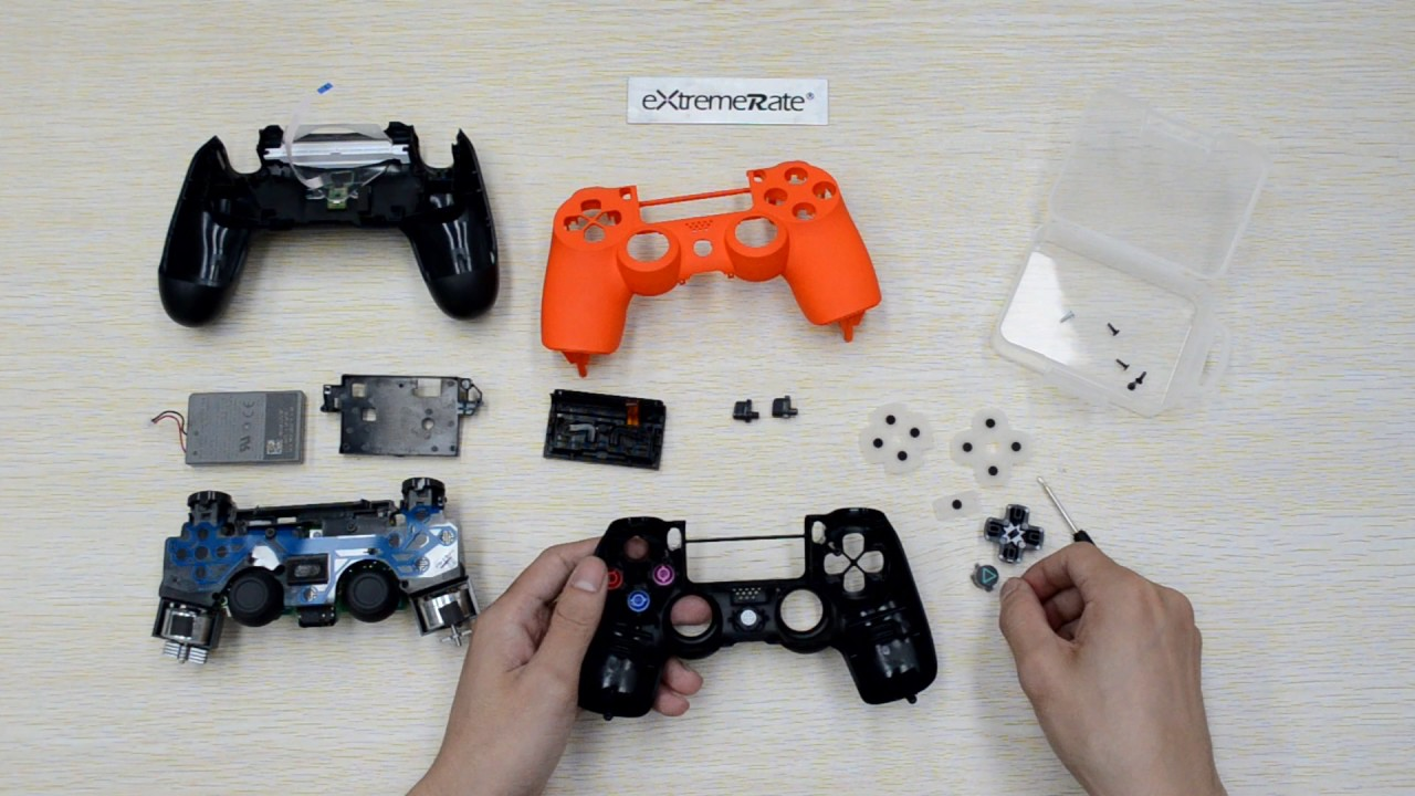 How to check ps4 controller model number
