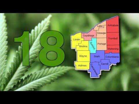 Northeast Ohio would get 18 medical marijuana dispensaries, according to draft proposal