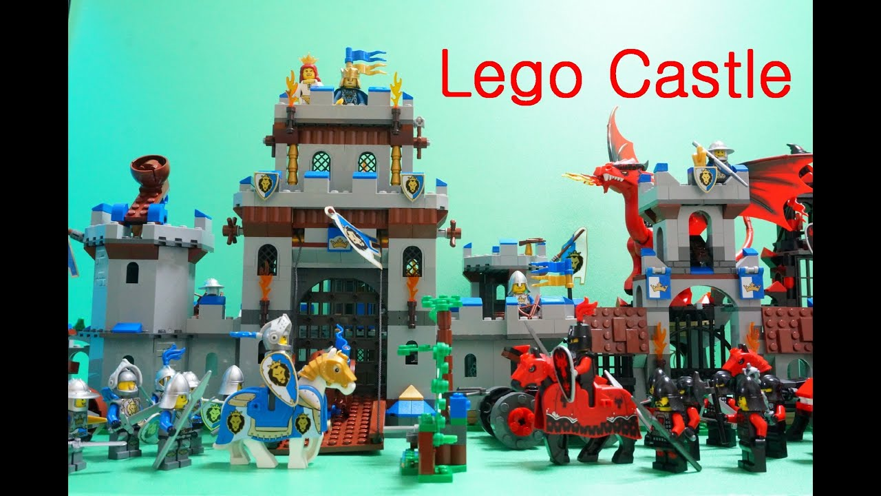 How To Build A Medieval Castle Out Of Legos