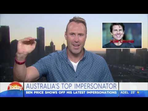 Ben Price on The Today Show Voices Challenge