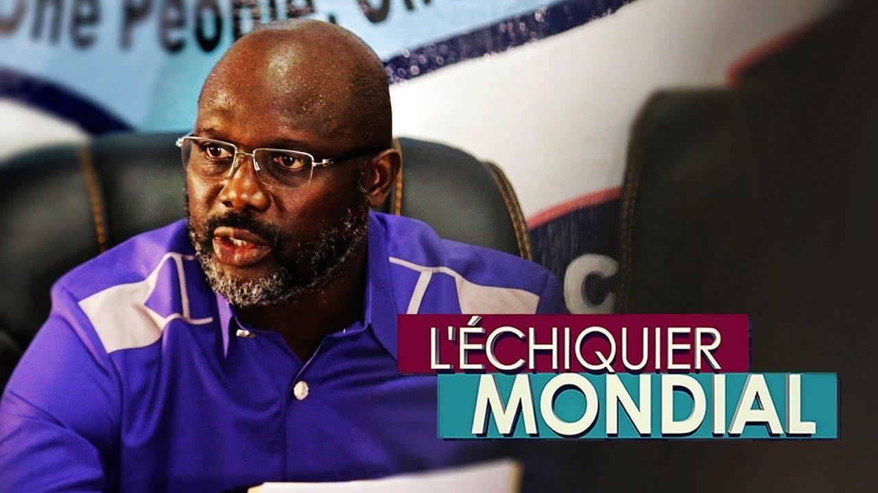 Download L'ECHIQUIER MONDIAL. Liberia : George Weah sur le fil du rasoir