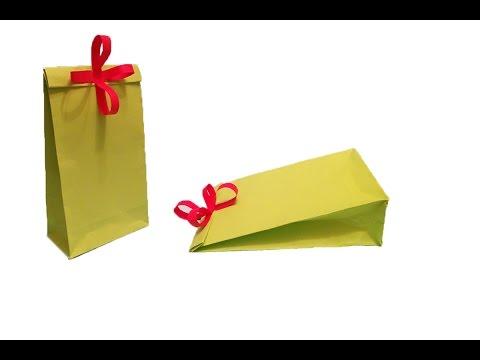 Kağıttan hediye kutusu yapımı