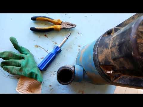 Как разобрать фекальный насос джилекс видео