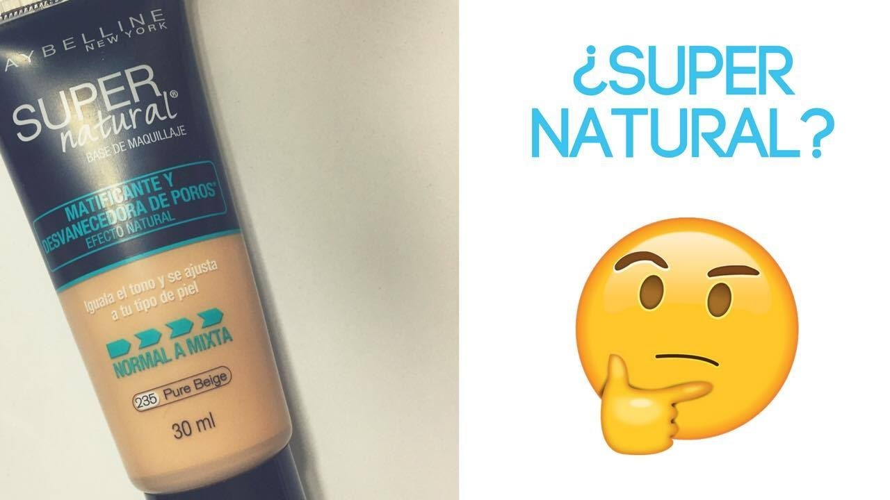 maquillaje natural maybelline