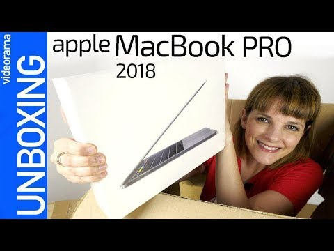 Apple MacBook Pro 2018 unboxing -con Intel 8º gen-