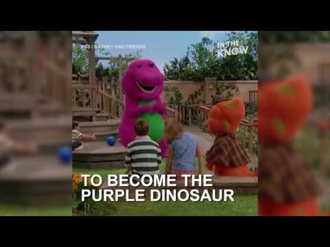Meet The Man Inside The Barney Suit  That Captured Our Hearts As Children