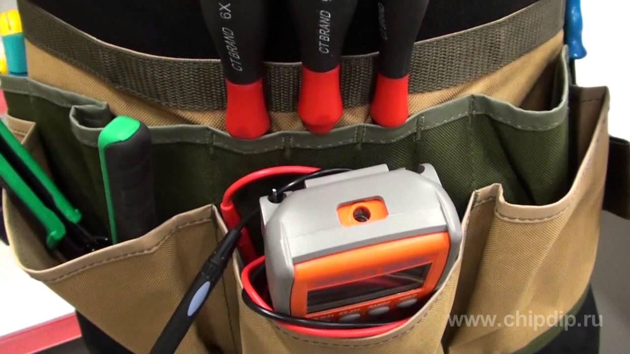 9151b2afbc3a Поясная сумка для переноса инструмента - YouTube