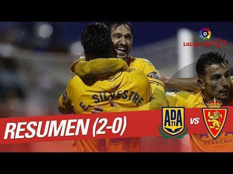 Resumen de AD Alcorcón vs Real Zaragoza (2-0)