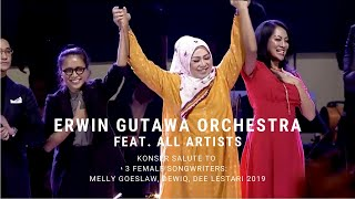 Erwin Gutawa Orchestra ft All Artists - Closing (Konser Salute Erwin Gutawa to 3 Female Songwriters)