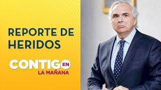 Ministro Chadwick: Reporte heridos y fallecidos en crisis chilena - Contigo en La Mañana