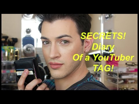 Secret Diary of a YouTuber Tag! - YouTube crush, secrets and behind the scenes. thumbnail