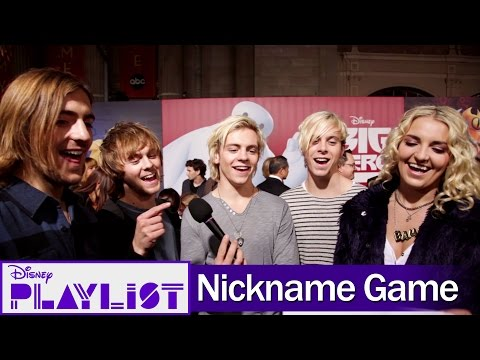 R5 Plays the Nickname Game at the Big Hero 6 Premiere