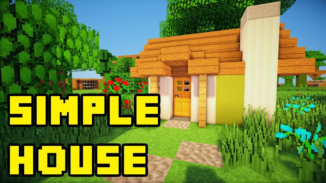How to make small house in minecraft youtube - How to make a small house ...