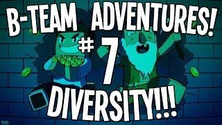 minecraft ctm map b team adventures diversity ep07 i hate parkour parkour