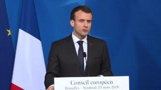 Skripal: Macron dénonce