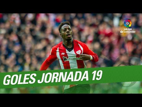 Todos los goles de la Jornada 19 de LaLiga Santander 2018/2019