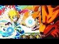 ** MINATO TRYING TO ONE SHOT KURAMA * | ** Naruto Ultimate Ninja Blazing *