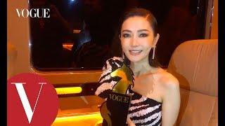 金馬55|姐姐謝金燕:斑馬裝全球只有一件,姐姐也只有一個!後台直擊訪問|2018金馬獎|Vogue Taiwan