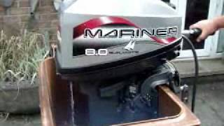 Mariner 8 HP Outboard 0001