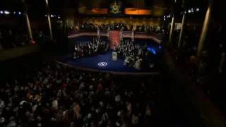 Patti Smith - A Hard Rain's A-Gonna Fall (Bob Dylan Cover) at 2016 Nobel Prize Award Ceremony.